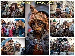 La Tronca , pasacalles Navidad, 2014
