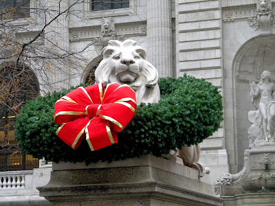 New York City Public Library Lions Patience
