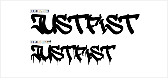 Free Graffiti Fonts - JustFist
