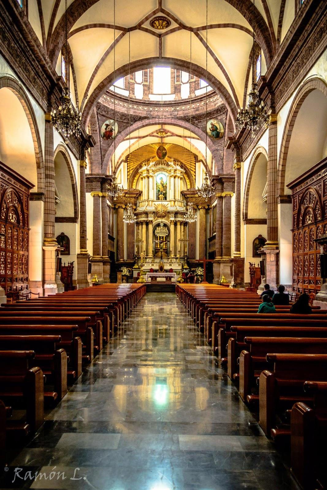 jaime ramos m ndez interior de la catedral de la di cesis