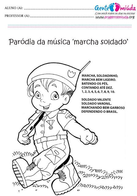 atividades para educação infantil para o dia do soldado