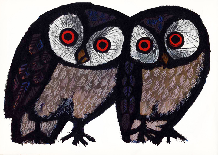 The Art of Childrens Picture Books The Happy Owls