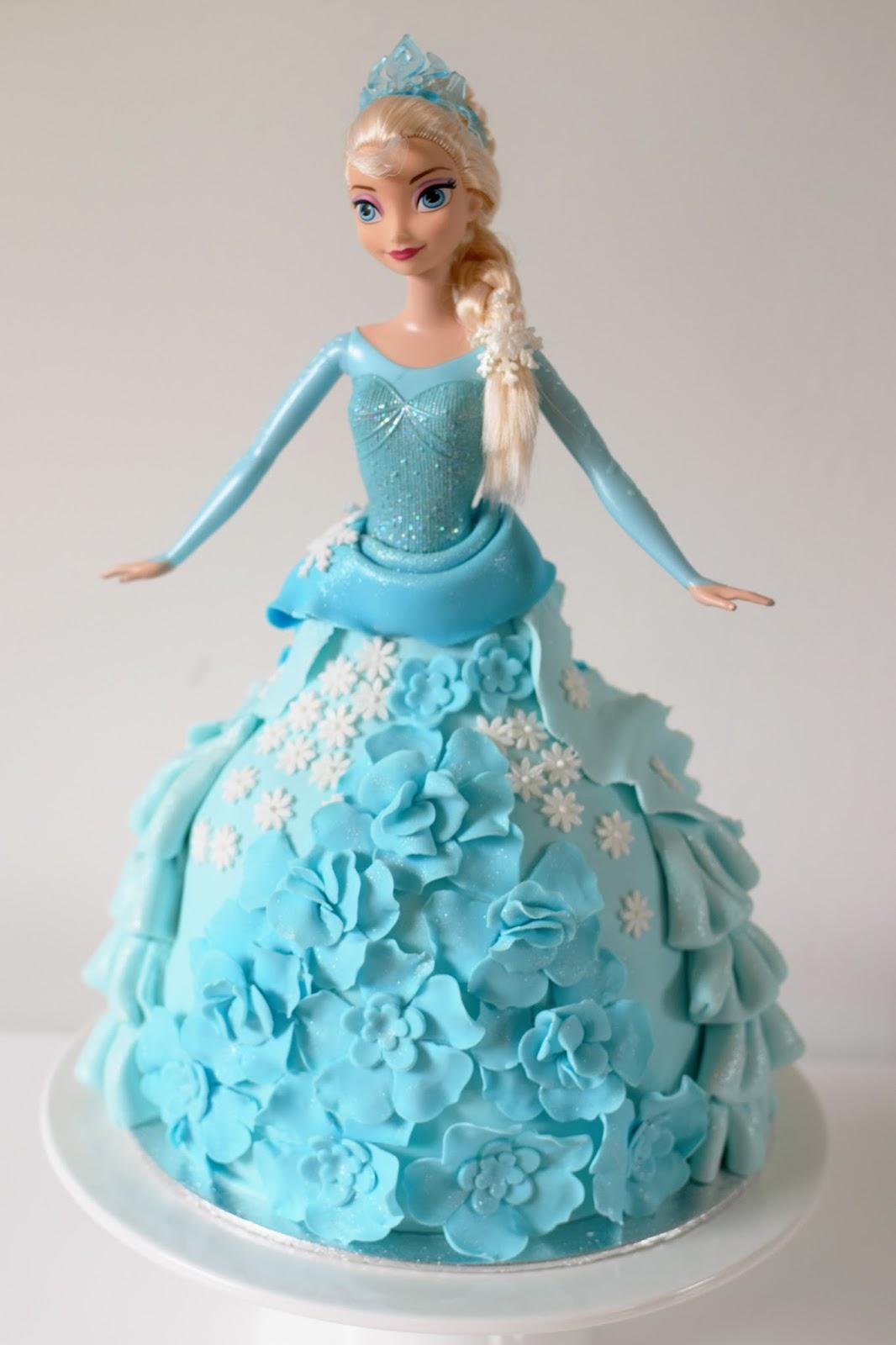 Elsa Doll Cake Images : Fijne Pret: Elsa Doll Cake