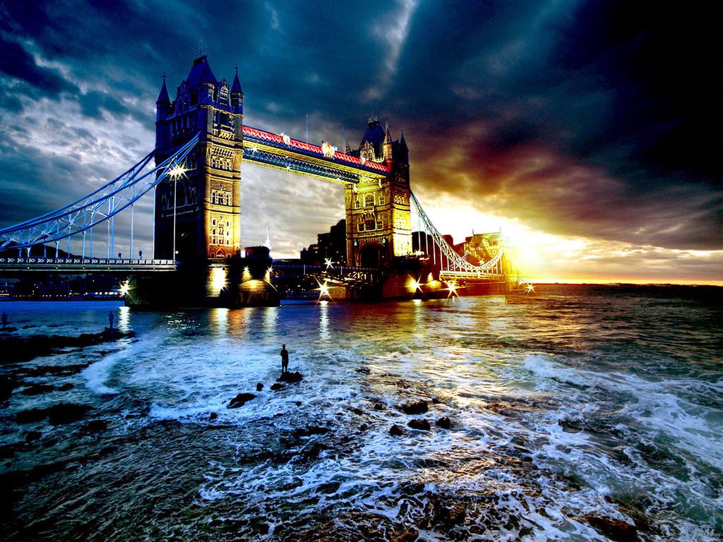 wallpaper bridge london scenic - photo #24