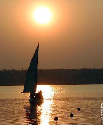 Фото Укринформ: закат
