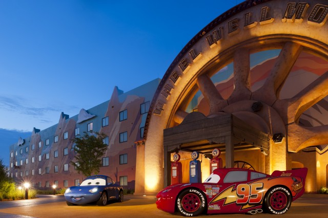 Best Vacation Ever Cars Wing Opens At Art Of Animation Resort