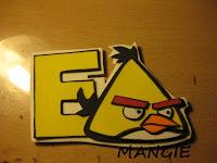 imán angry birds amarillo