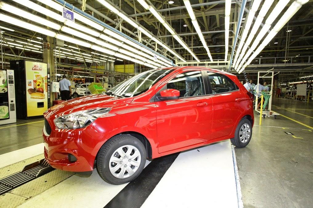 Ford completa 2,5 milhões de vendas em Camaçari, na Bahia e comemora!