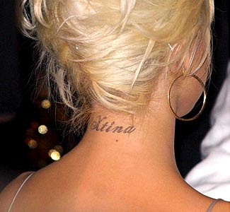 Entertainment mood secrets behind celebrity ink for Tattoos behind the neck