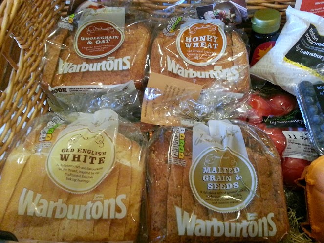 Warburtons special bread loaves