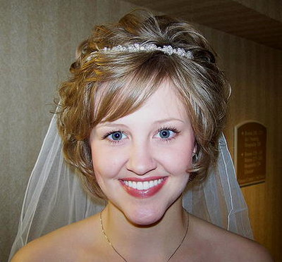 short curly wedding hairstyles. Wedding Hairstyles For Short