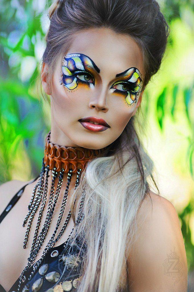 Макияж фантазийного макияжа