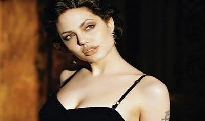 Unseen Angelina Jolie