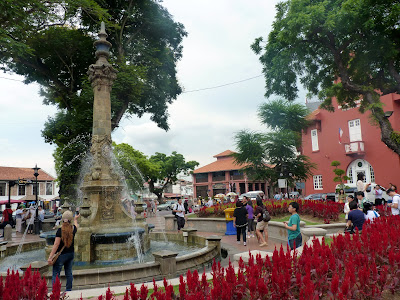fountain Queen Victoria, Dutch square, Melaka