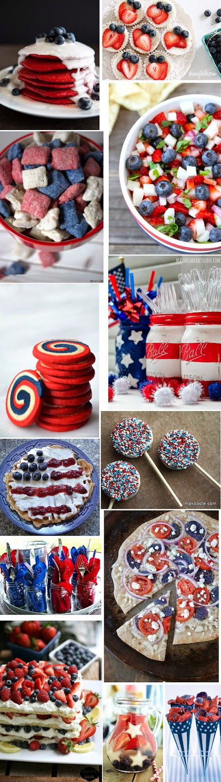 Patriotic Food + Decor for Labor Day | Luci's Morsels