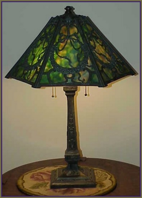 Views from north cecil 1907 wilkinson slag glass table lamp this is a fabulous slag glass lamp by wilkinson these guys made some of the heaviest and most detailed slag lamps out there and this one is no exception aloadofball Choice Image