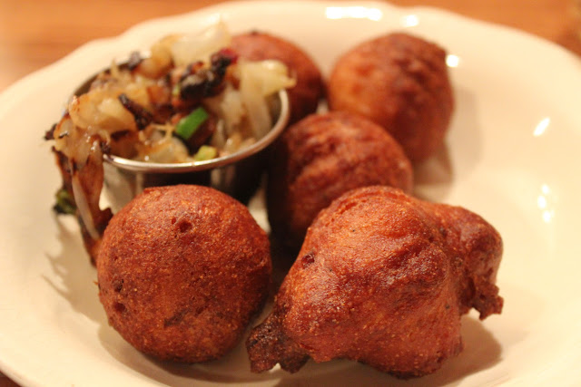 Hushpuppies at Redd's in Rozzie, Roslindale, Mass.