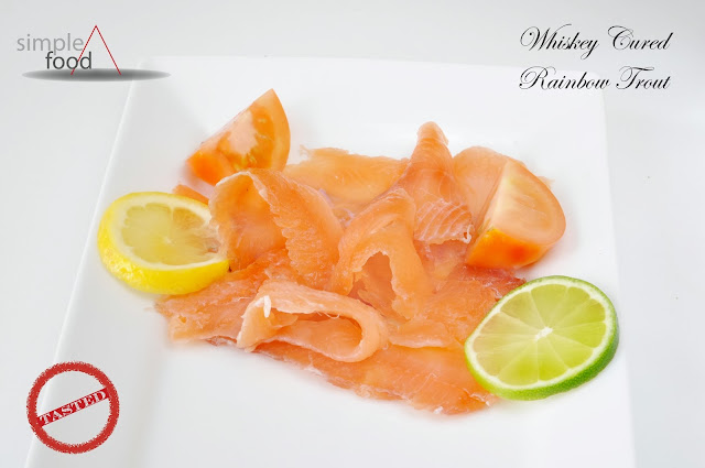 Whiskey Cured Rainbow Trout ~ Simple Food