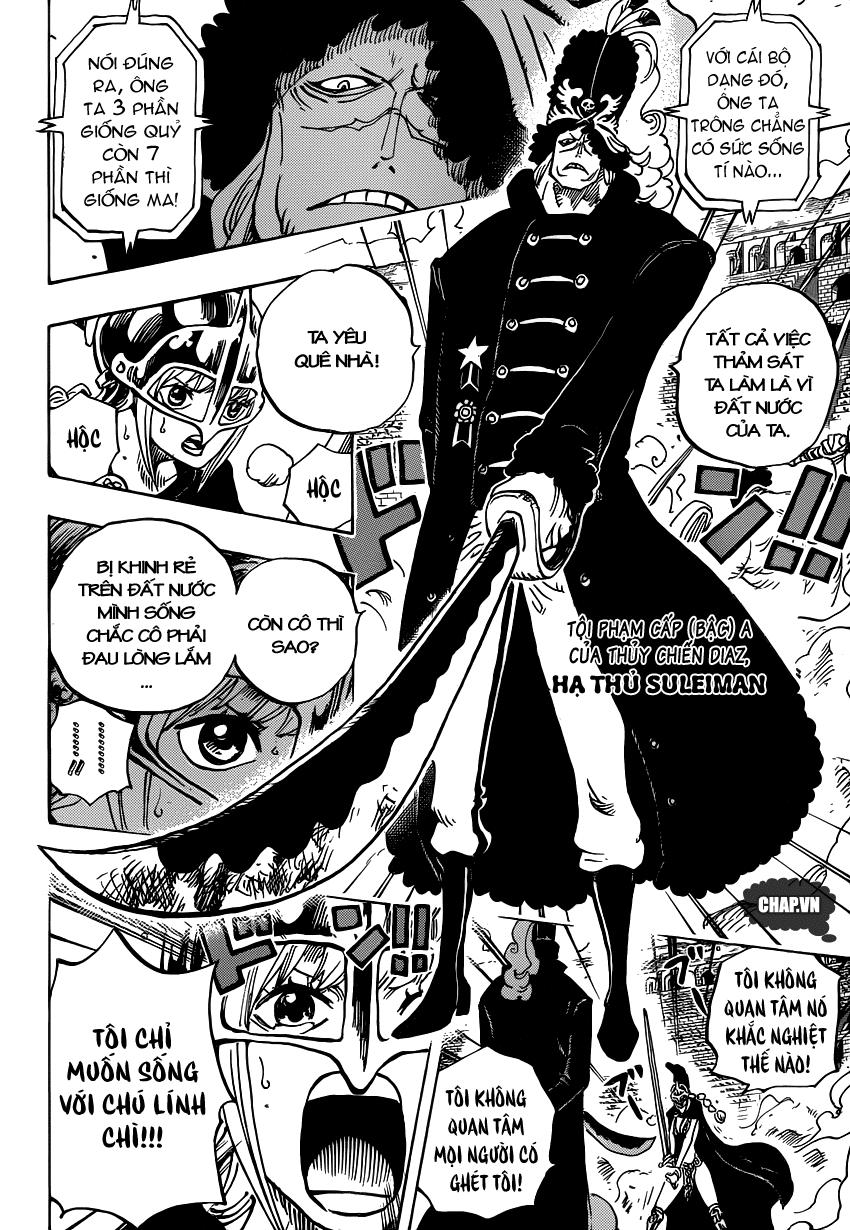 One Piece Chapter 733: Ước nguyện của anh lính chì 003