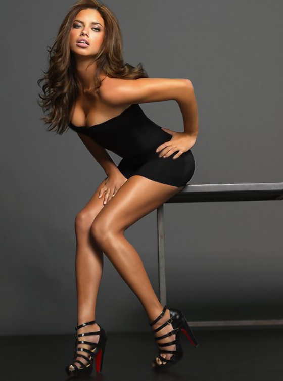 Adriana Lima Short Hair | newhairstylesformen2014.com