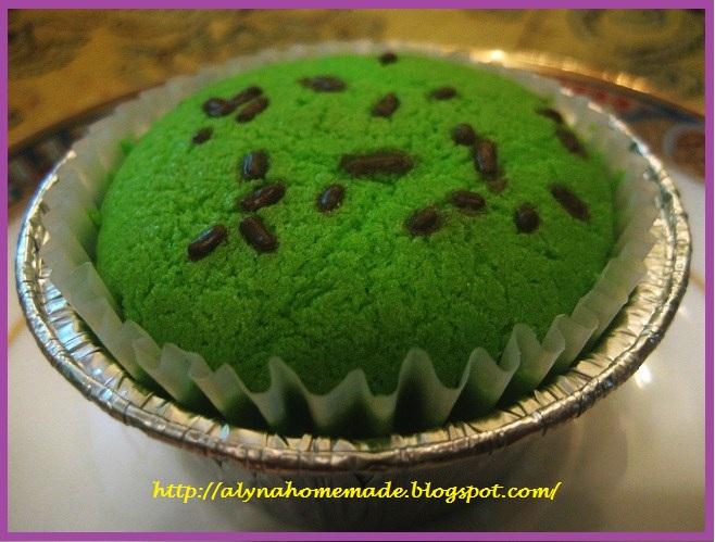 Alyna s recipes and stories kek cawan pandan