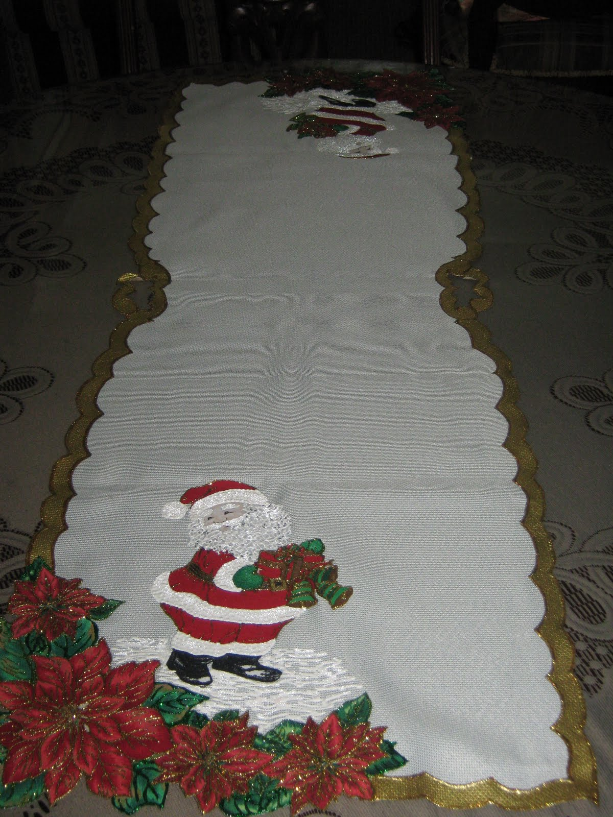 Caminos para mesa de navidad - Imagui