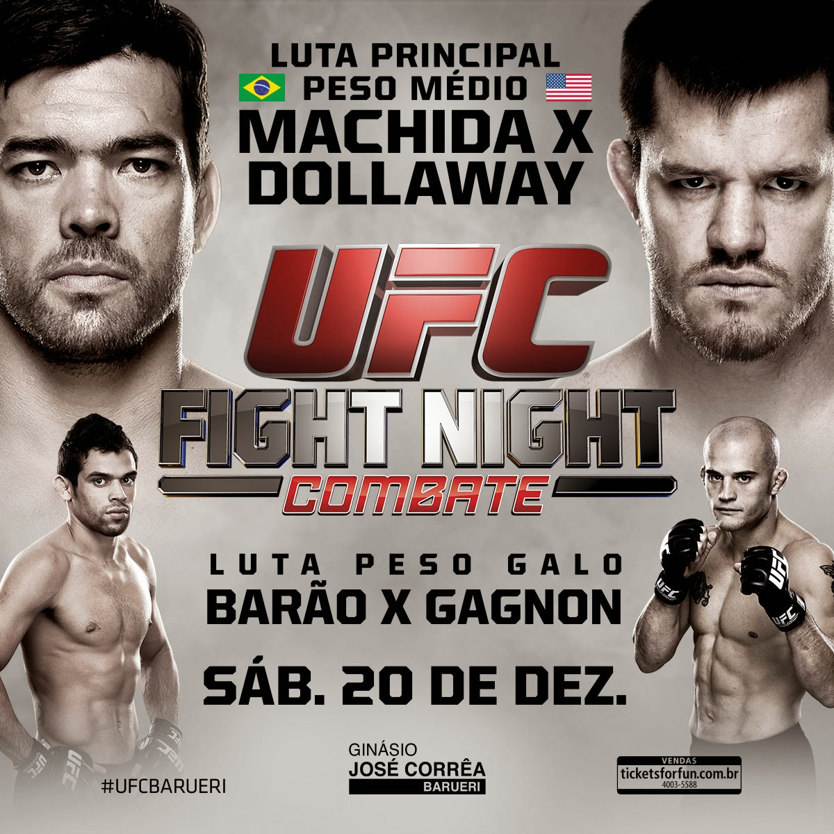 UFC Fight Night: Machida vs Dollaway