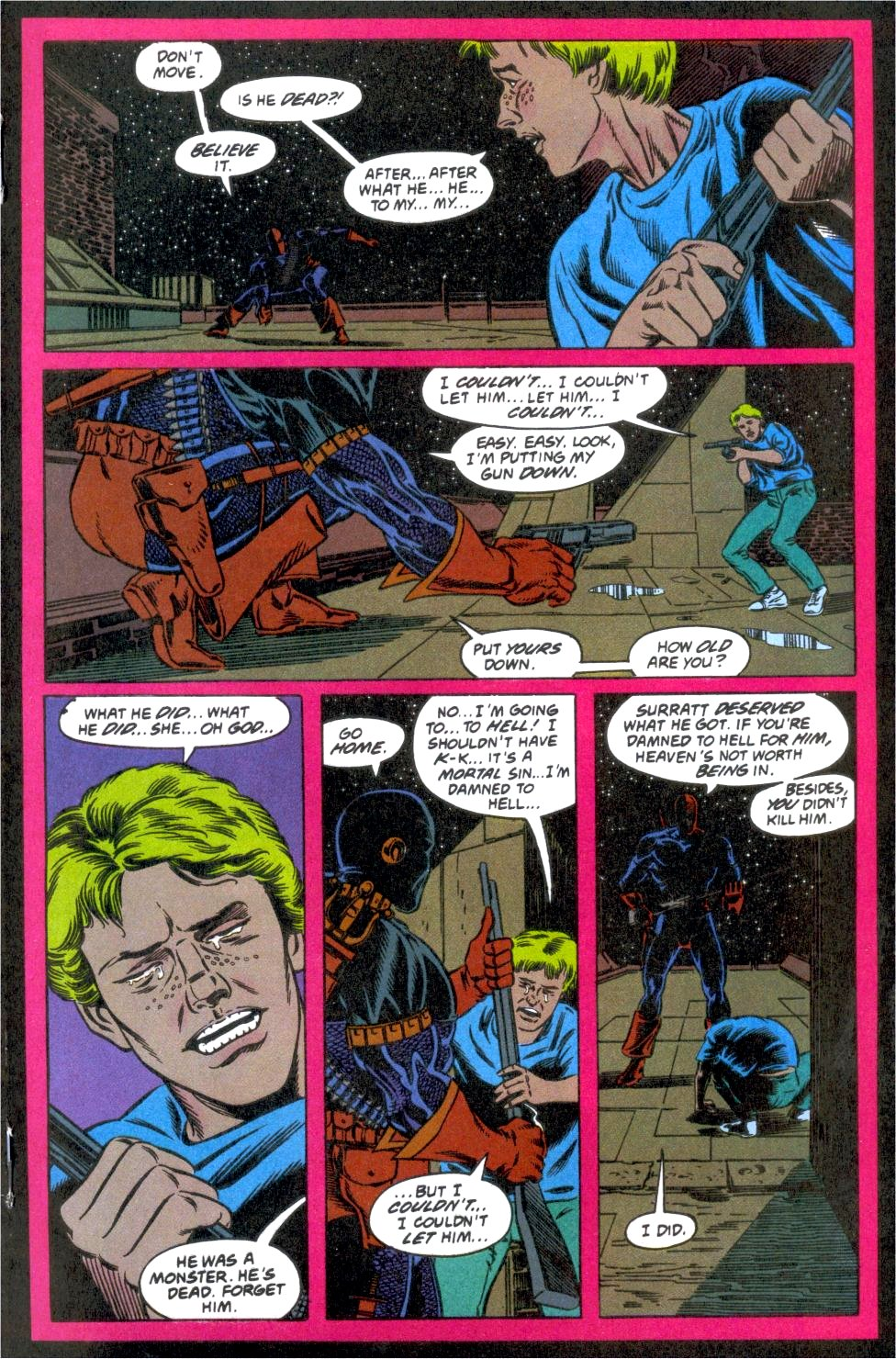Deathstroke (1991) Issue #12 #17 - English 17