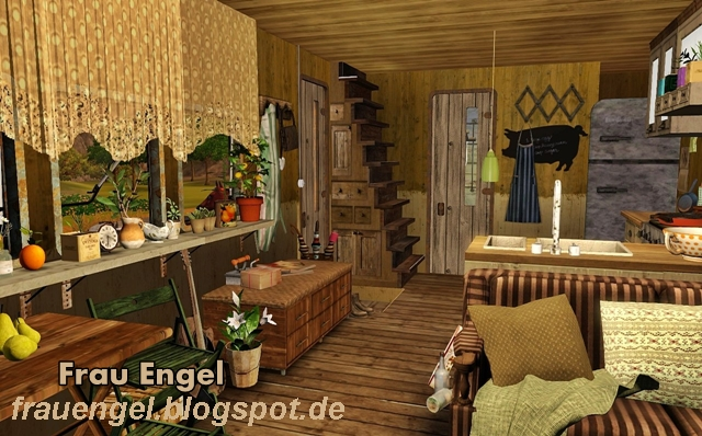 My sims 3 blog mobile home by frau engel - Sims 2 downloads mobel ...