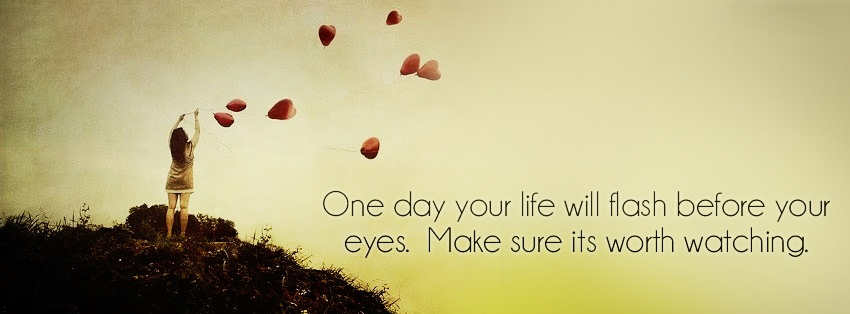Facebook covers with life quotes