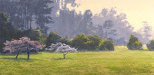 San Francisco Park, Pastel Painting Art Lesson