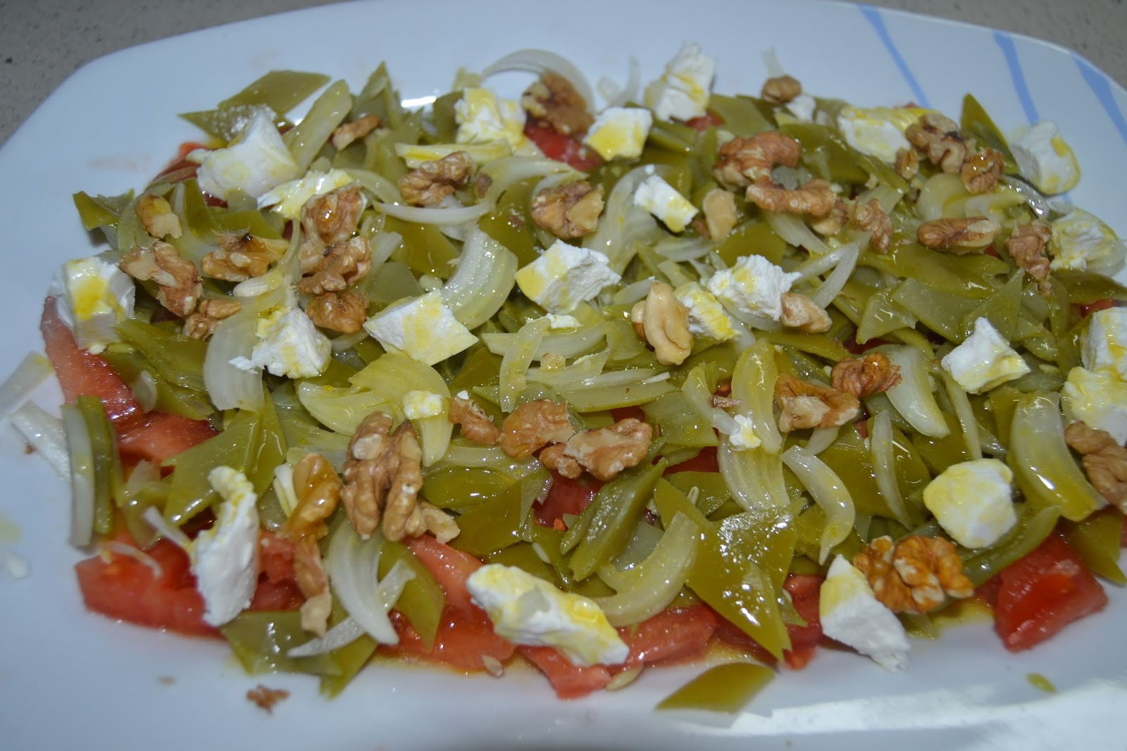 Mi taller de cocina ensalada de judias verdes - Ensalada de judias verdes arguinano ...