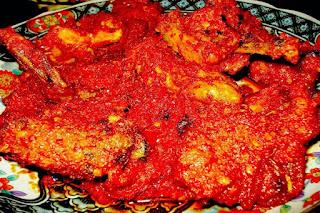 Ayam Masak Habang Khas Kalimantan Selatan