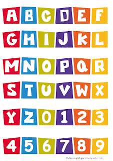 Alphabet printable Pocoyo