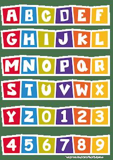 Alphabet printable Pocoyo