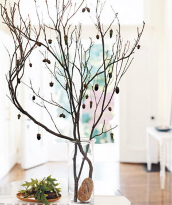 Walmart.com: Urban Trends White Ceramic Vase in Tree Branches