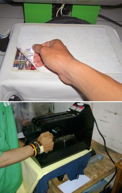 tutorial cara sablon kaos digital print dengan transfer paper |studio ...