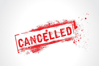 Fully cancelled trains today