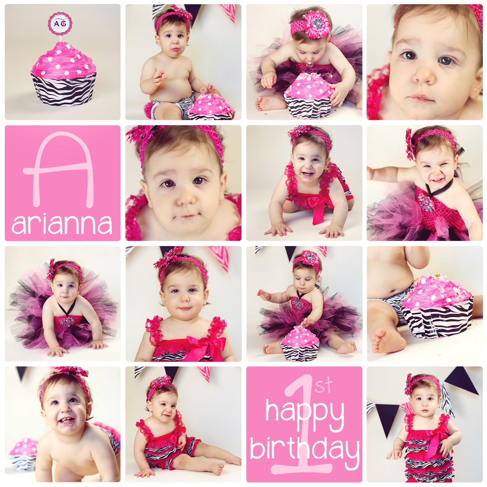 Famous birthday collage template photos example resume and pretty free birthday collage template images gallery cake smash maxwellsz