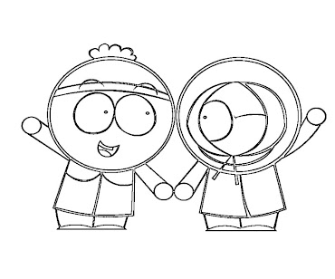 #6 Stan Marsh Coloring Page