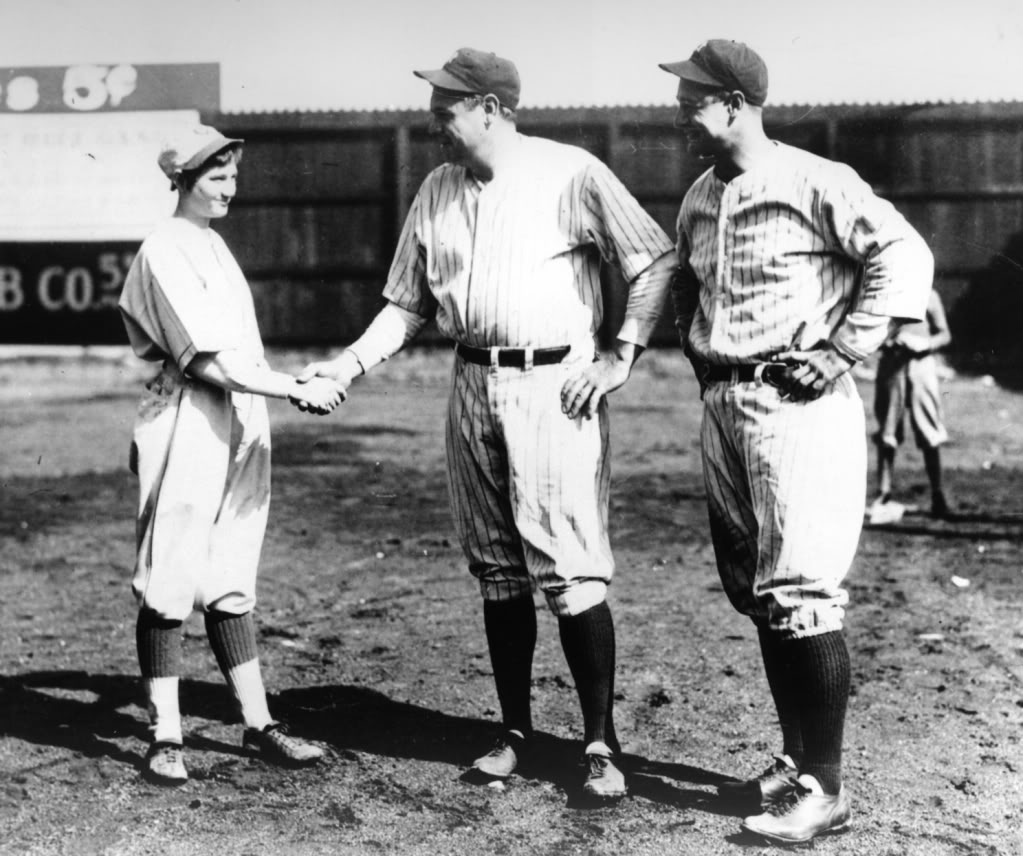 a for apples b for books  shaking hands babe ruth