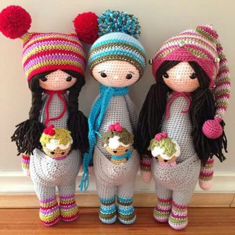 Wish list da semana Quero que a minha mãe me faça um boneca destas...