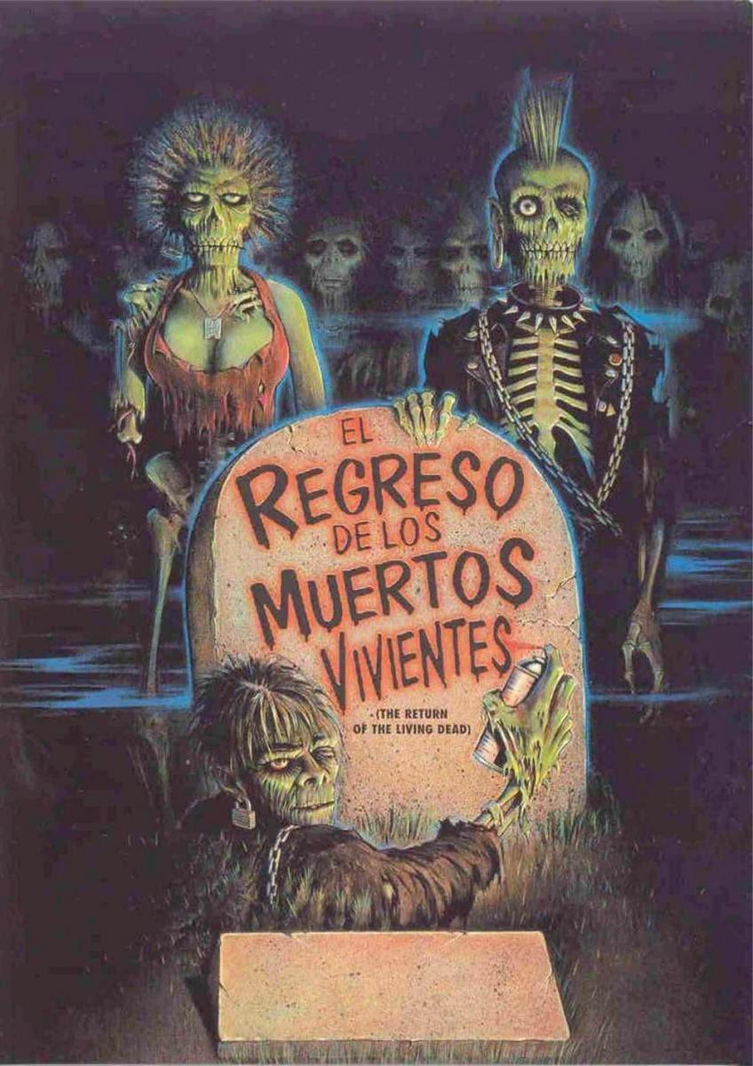 El Regreso de los Muertos Vivientes [1985] DVDRip Latino
