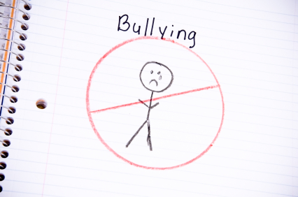 No bullying drawing