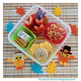 Turkey theme lunch for kids