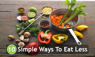10 Simple Ways To Eat Less