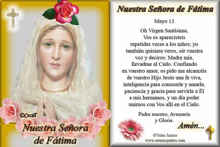 Virgen de Fátima - Papa Francisco: La Iglesia necesita