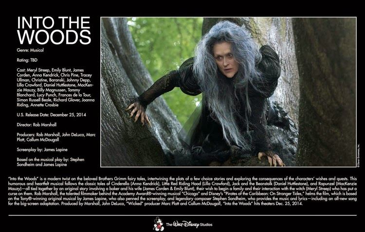 December 25, 2014 – Into the Woods