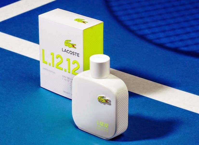 Eau de Lacoste L.12.12 Limited Edition, lacoste fragrance, Fragrance world, fragrance, fragrance update, polo tshirt, rene lacoste, eau de lacoste L.12.12 Blanc