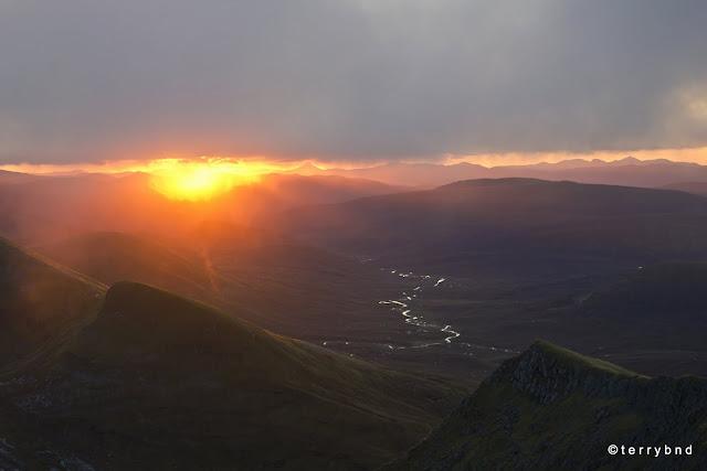 Dawn from Aonach Beag